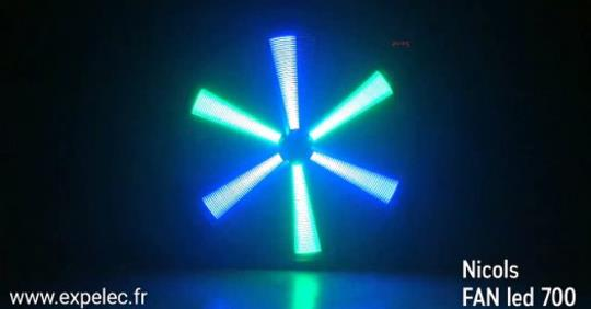 Nouveau – NICOLS FAN LED 700